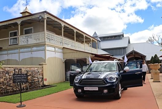 BMW Mini Countryman Launch at Flaxton Gardens