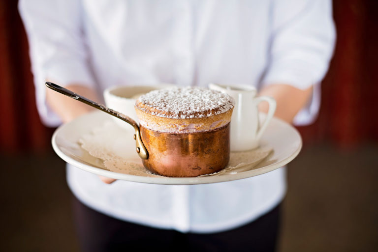 Souffle at Vineyard Restaurant Flaxton Gardens