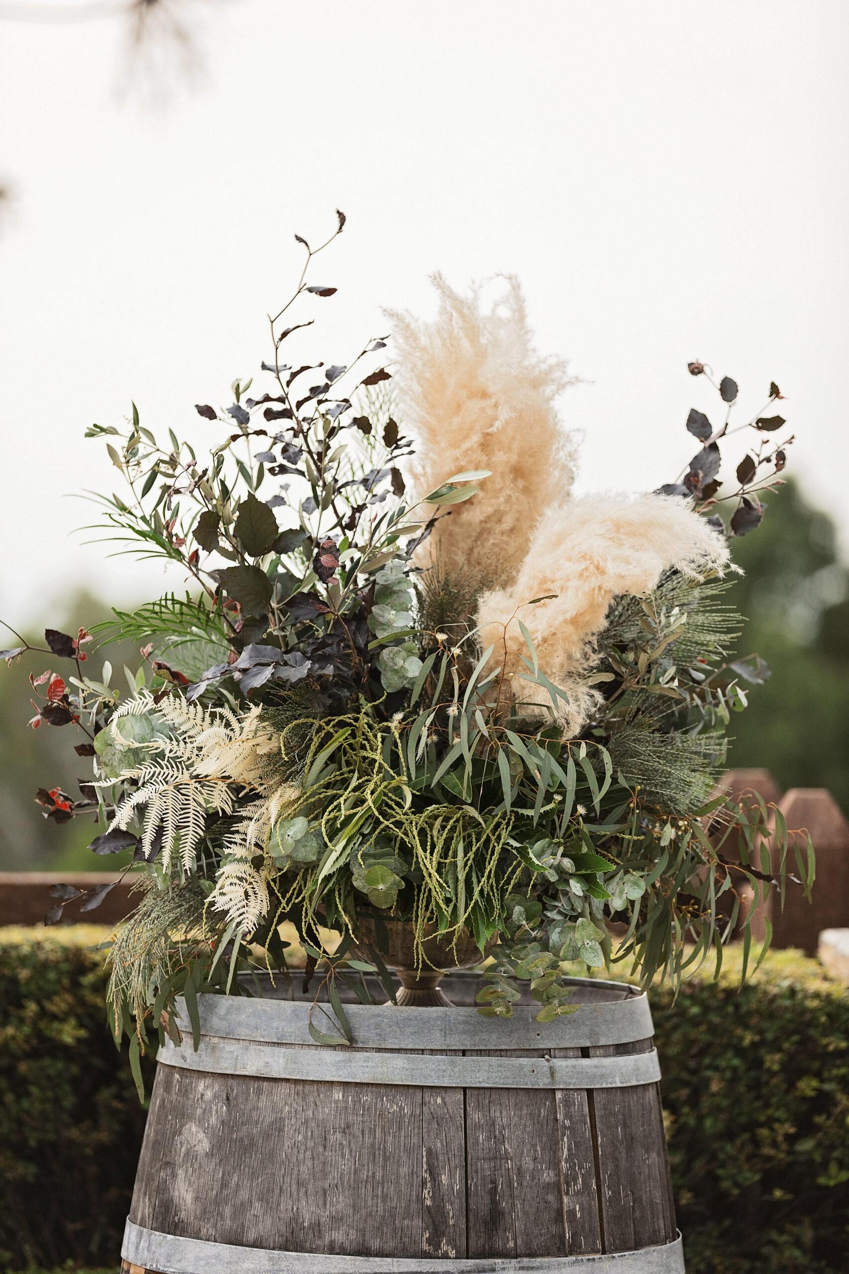 Maleny Festival Wedding Rustic Style