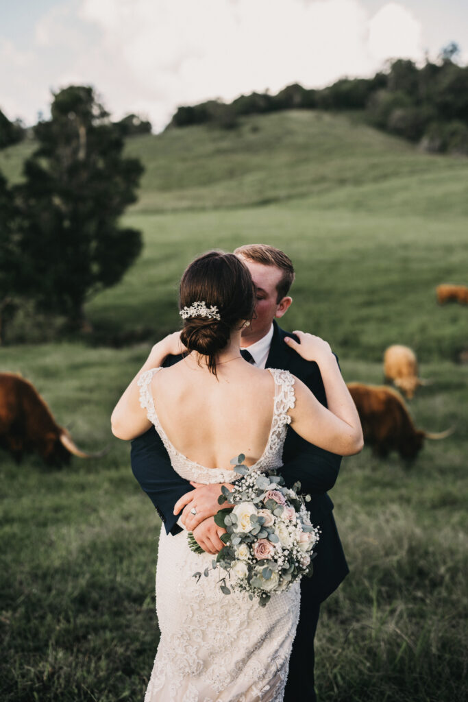 Highland Cows and Hinterland Wedding Wow - Flaxton Gardens