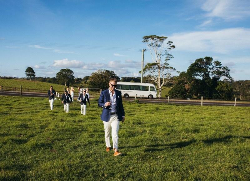 Wedding Bus Transfers in the Sunshine Coast Hinterland Flaxton
