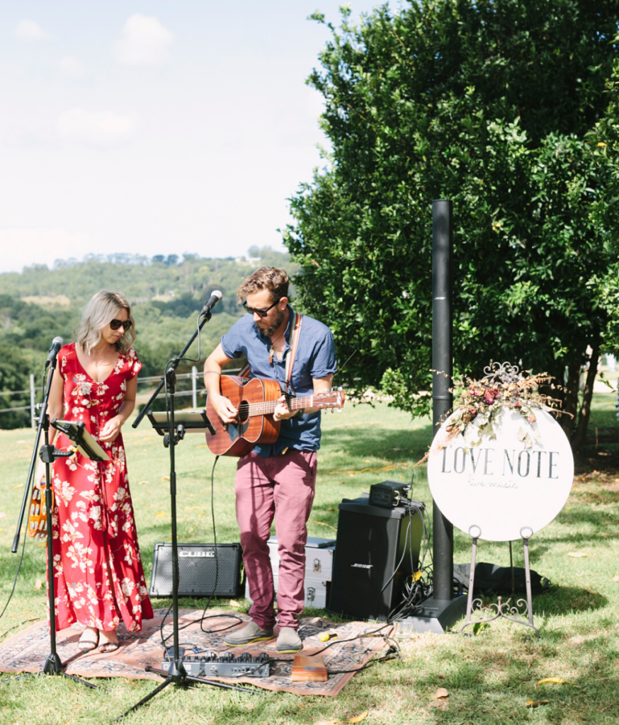 Love Note Music at Flaxton Gardens