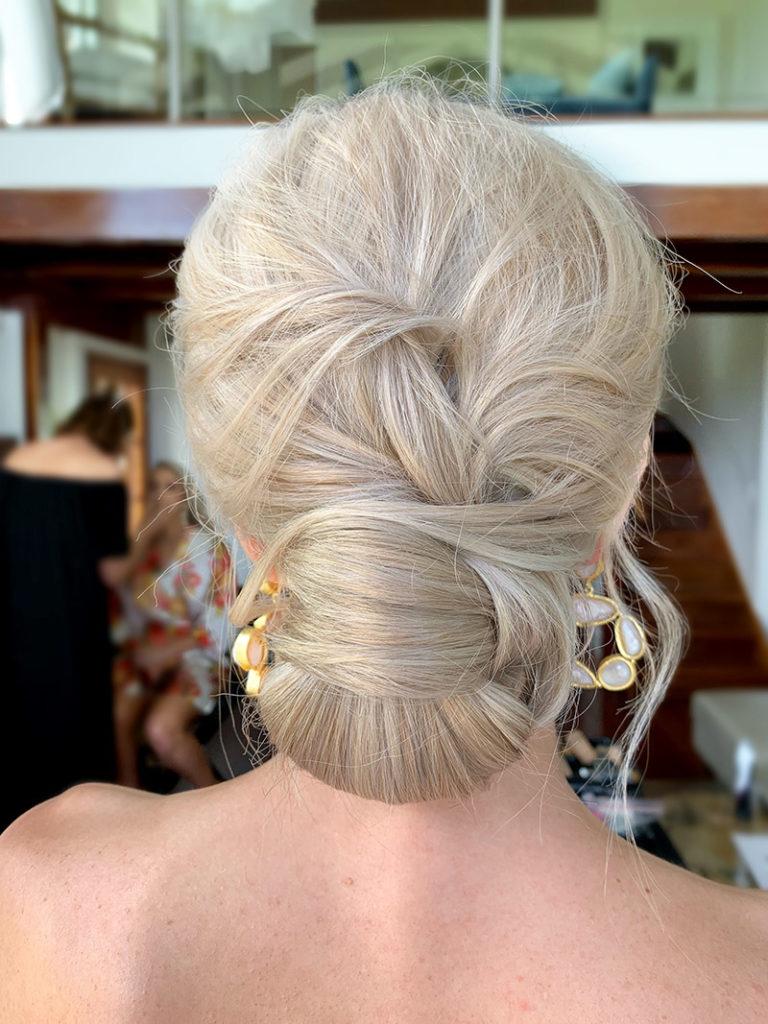 Sass and Nikki Wedding Hair Flaxton Gardens